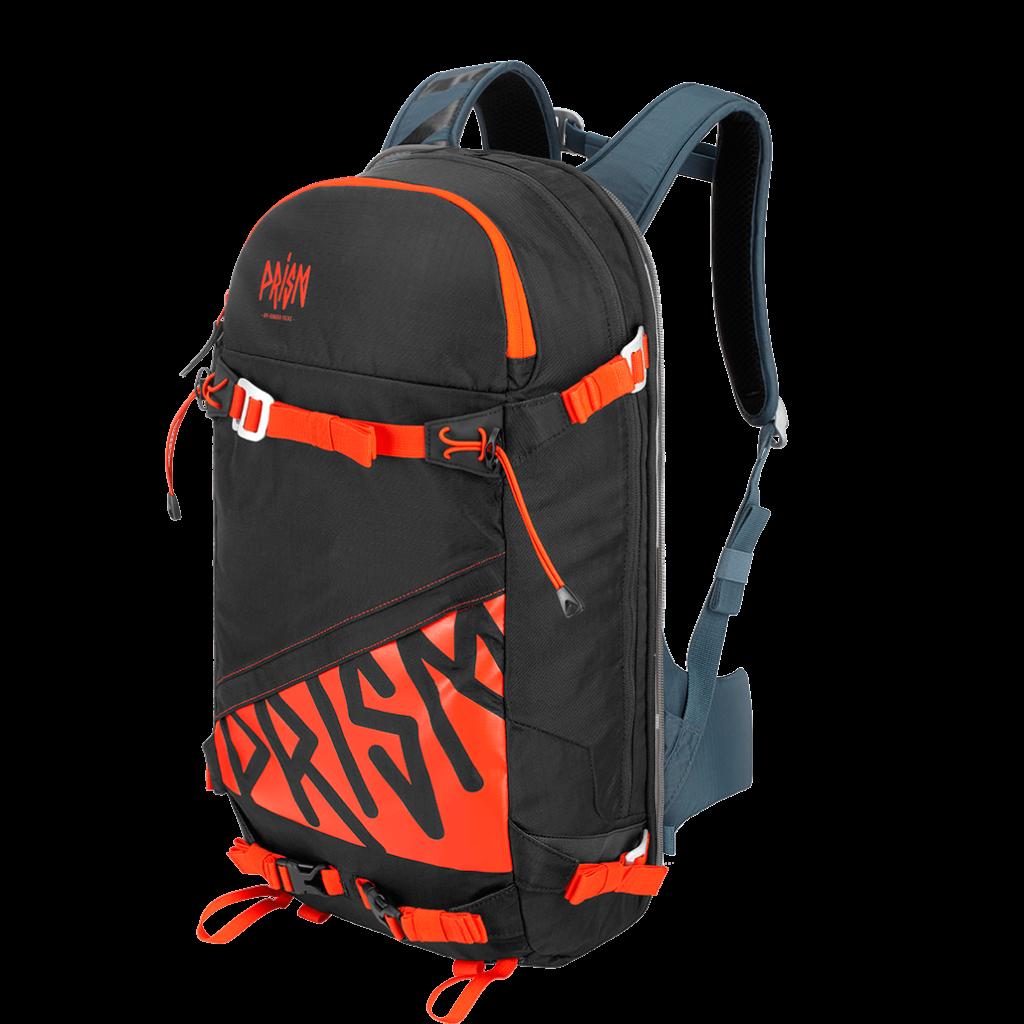 Pack Titane 22L Black / Orange Fire