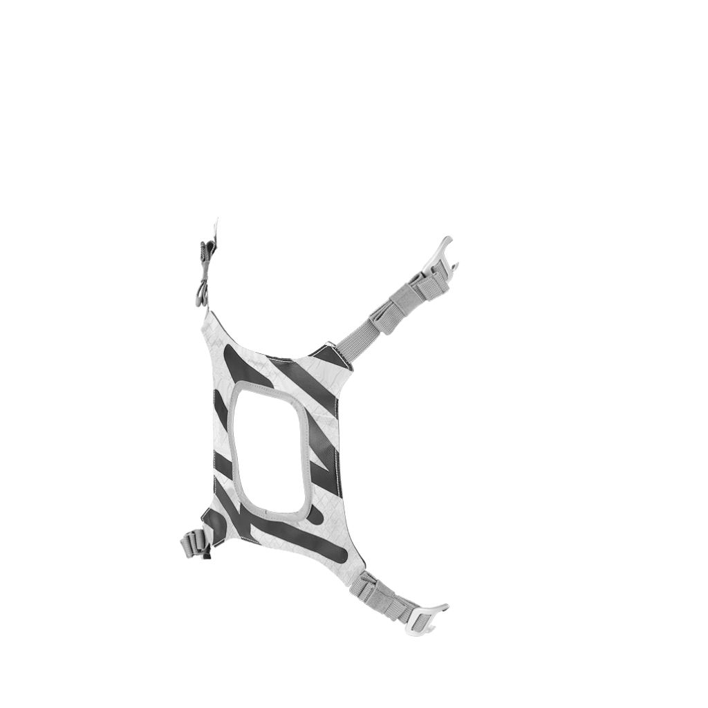 Porte-casque imprimé White Flake