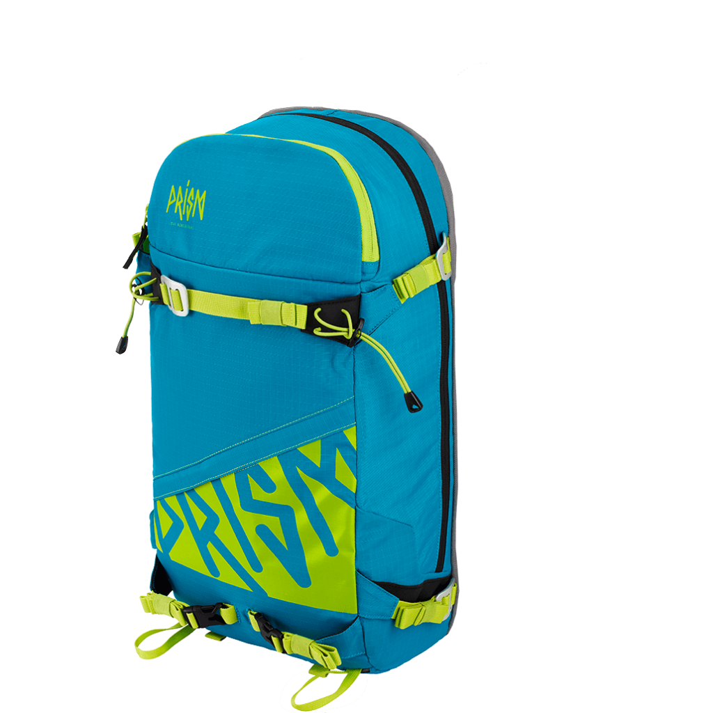 Zip-On Titane 22L Blue Lagoon / Green Lime
