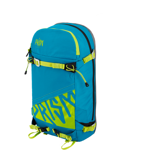 Zip-On Titane 22L Blue Lagoon / Green Lime