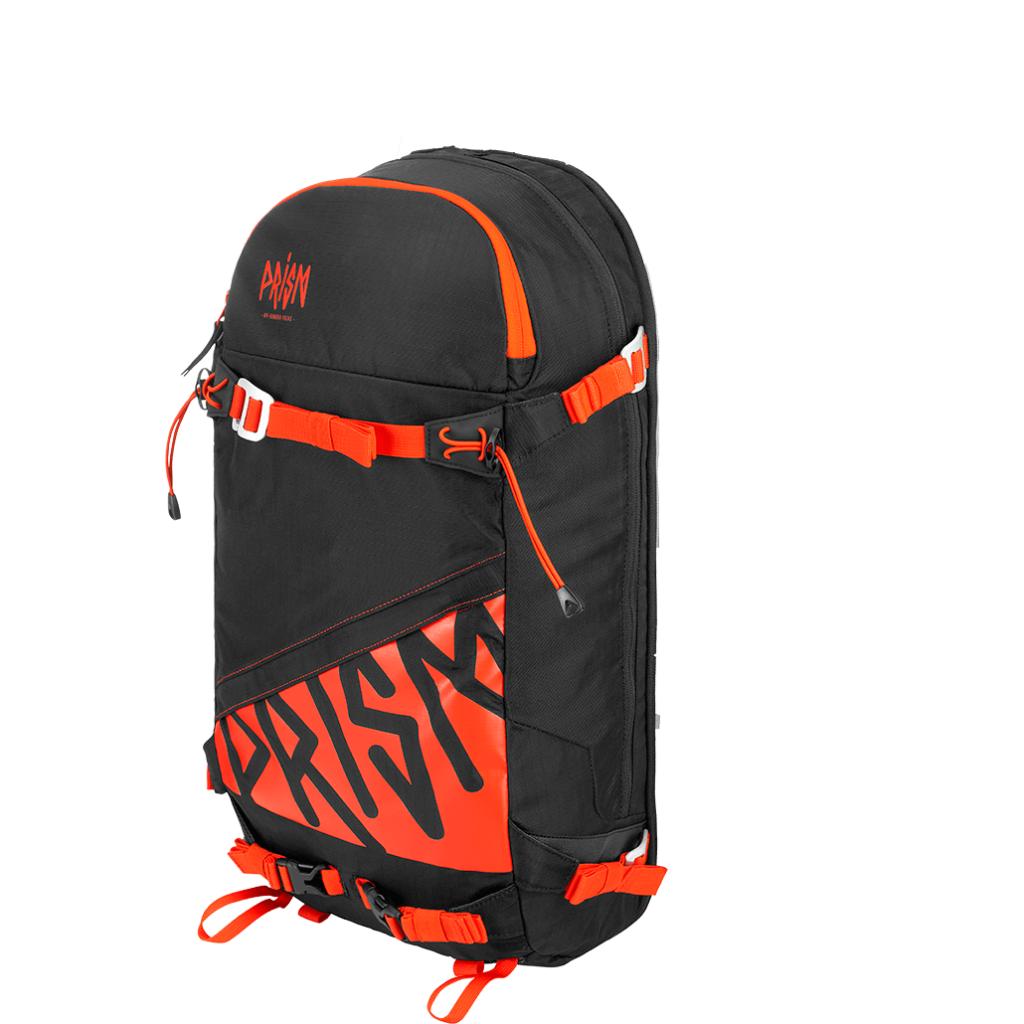 Zip-On Titane 22L Black / Orange Fire