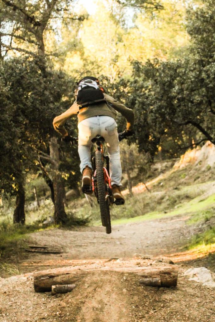 Rider qui test le matériel prism