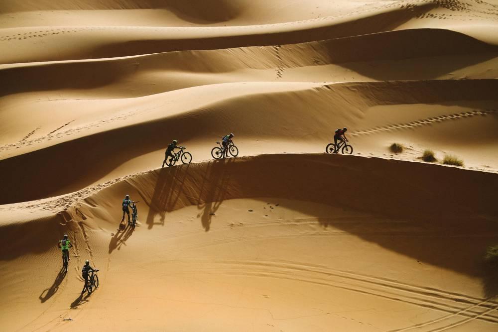 Dunes du désert marocain