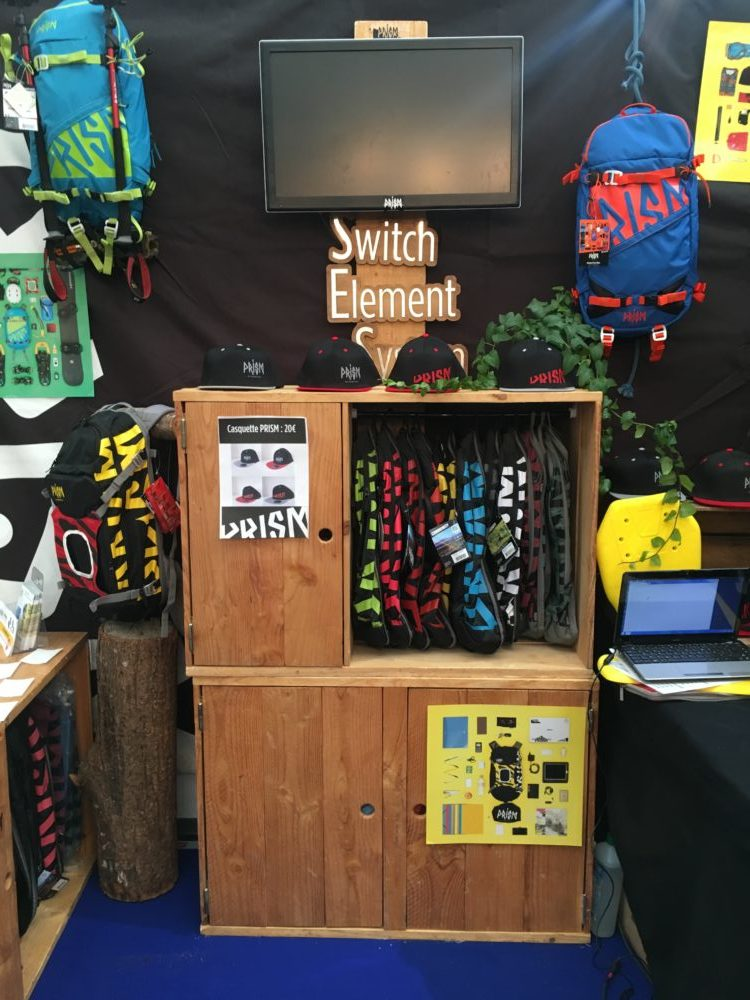 photo du stand du rock d'azur, le switch element systeme