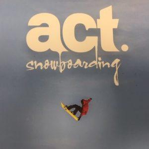 Prism dans act snowboarding