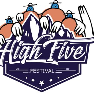 Logo du high five festival édition 2018