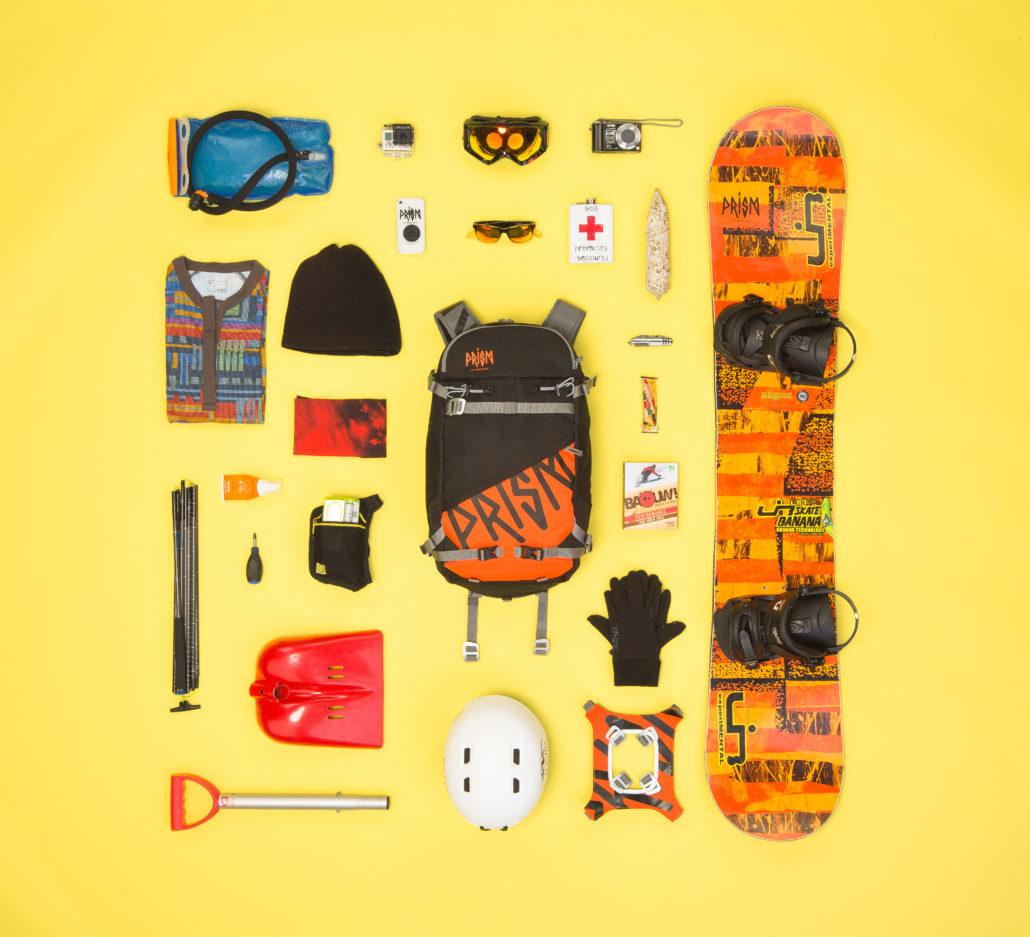 Ti22 snowboard piste